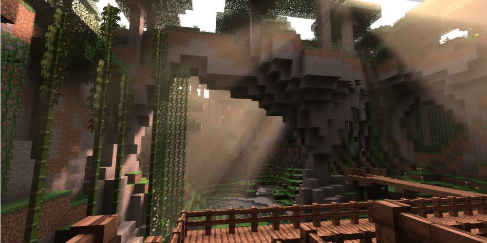 le ray tracing arrive sur la version PC de minecraft