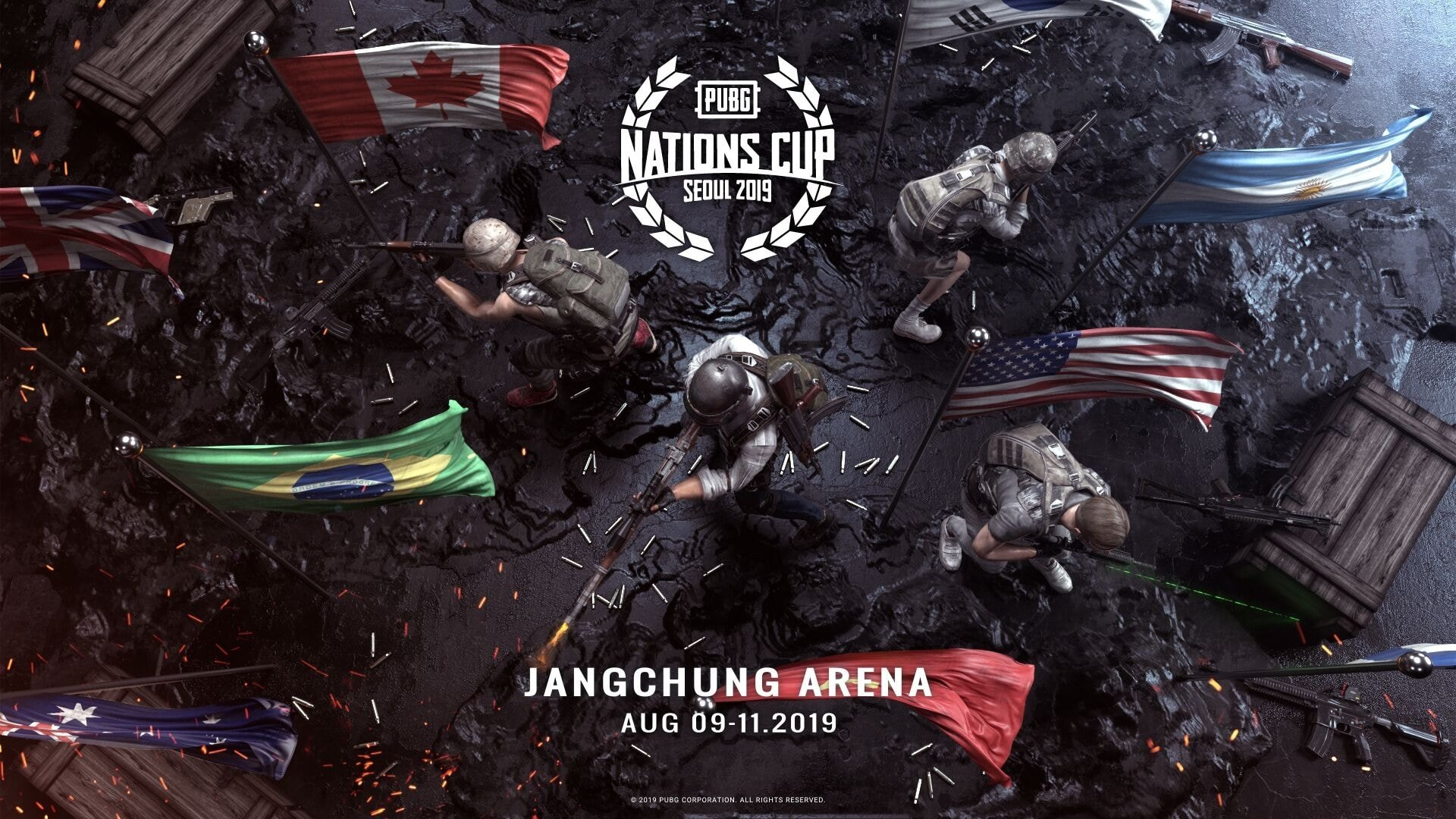 analystes casters nationscup pubg esport vonguru