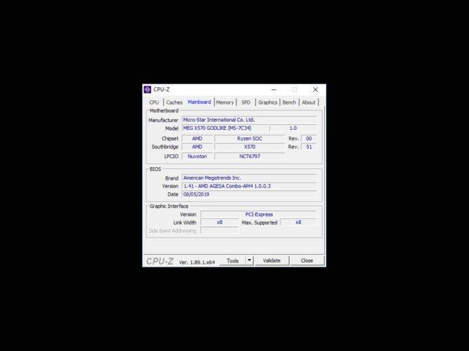 Tuto flash de la MSI MEG X570 Godlike
