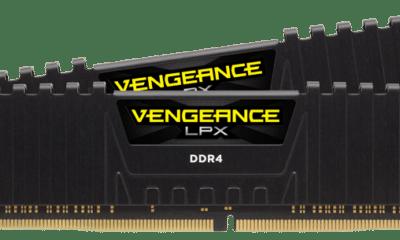 Le kit Corsair Vengeance LPX à 4866 MHz
