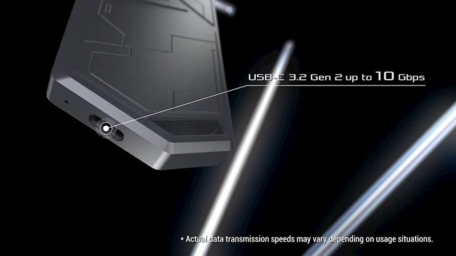 Asus ROG Strix Arion usb c 10gbps