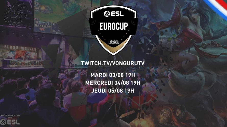 planning stream esl eurocup vonguru
