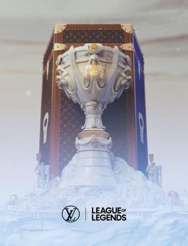 Louis Vuitton Riot Games association coupe worlds league of legends esport vonguru