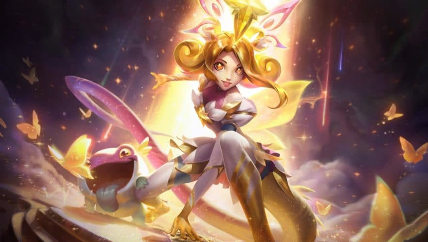 Neeko gardienne des étoiles prestige skin league of legends vonguru