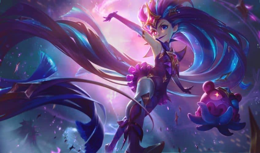 Zoé gardienne des étoiles skin league of legends jeux vidéo vonguru