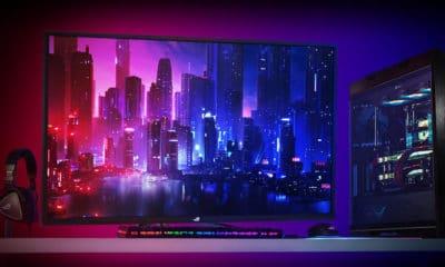 asus rog strix xg438q un écran 4k 120 hz de la taille d'un tv