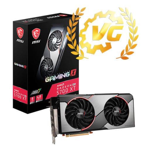 Gold award pour la MSI RX 5700 XT Gaming X
