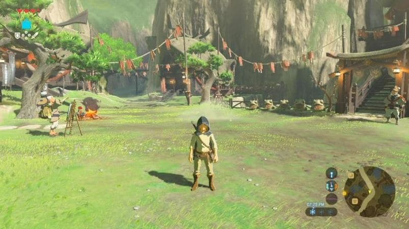 breath of the wild aperçu