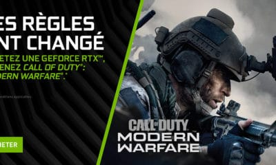 Bundle pour les cartes graphiques NVIDIA Call of Duty Modern Warfare