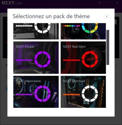 Le logiciel Cam de NZXT en version 4.0