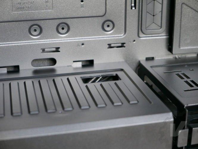 Cooler Master H500 cache alimentation