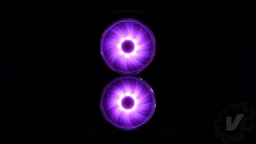 Cooler Master H500 effet lumière 3