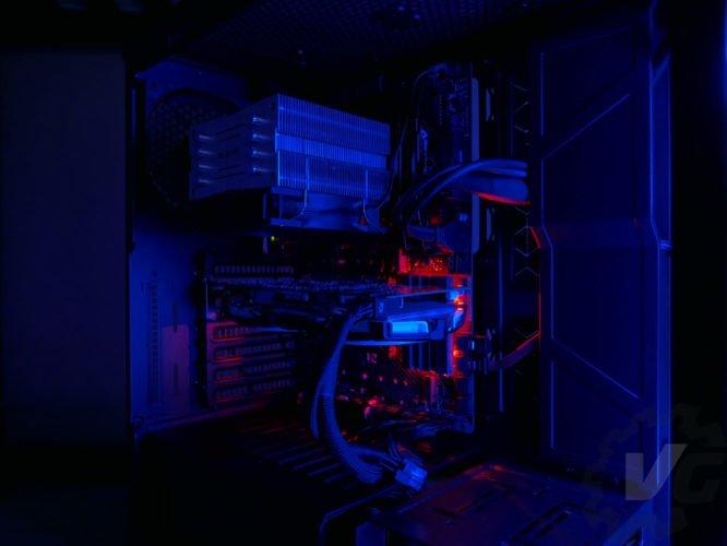 Cooler Master H500 nuit bleu