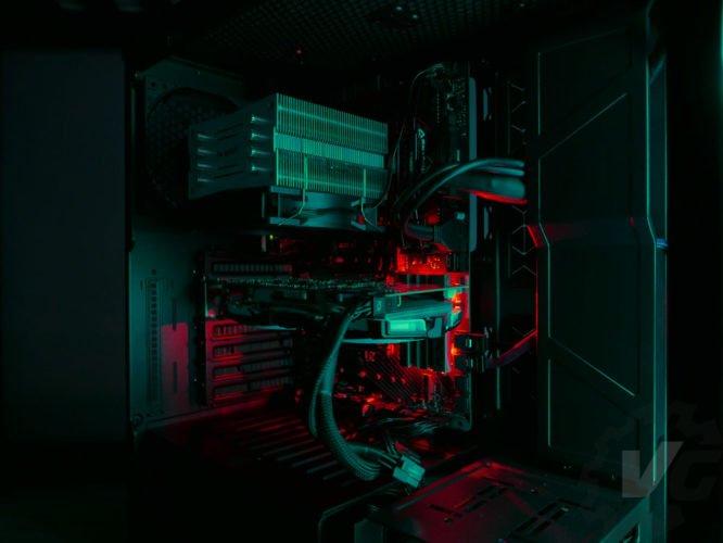 Cooler Master H500 nuit vert