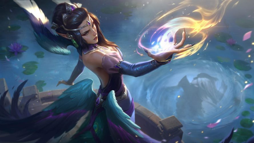 morgana impératrice majestueuse skin patch 9.19 league of legends v jeux video onguru