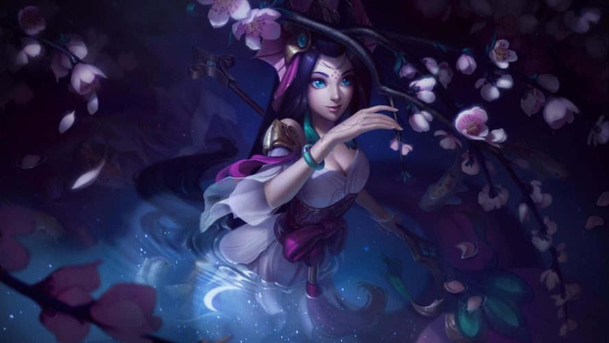 nami au bâton splendide skin patch 9.19 league of legends jeux vidéo vonguru