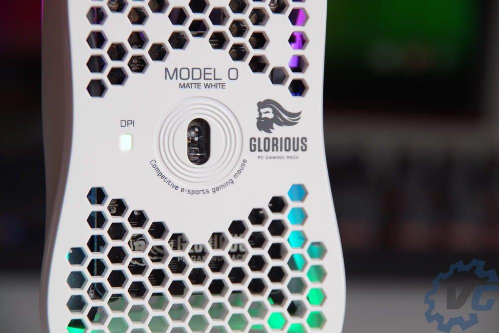 Glorious Model O capteur