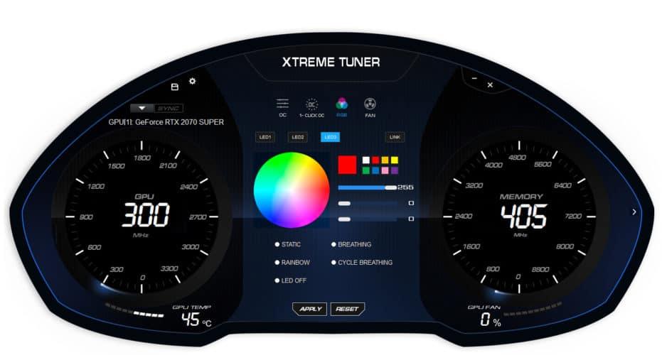 Le logiciel Xtreme Tuner de KFA2