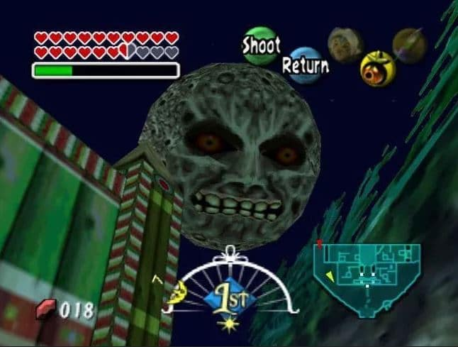 Zelda Majora's mask lune