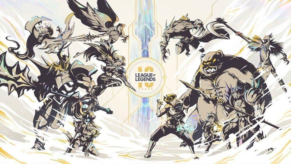 anniversaire 10 ans league of legends événement jeux vidéo vonguru