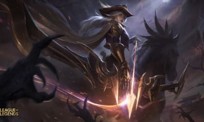 Ashe de l'ouest skin league of legends patch 9.20 jeux vidéo vonguru
