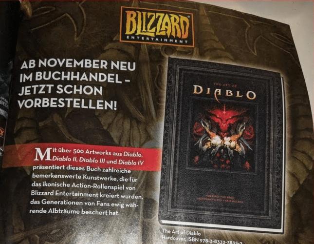 Blizzard Artbook Diablo 4