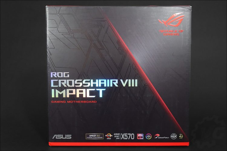 L'Asus Crosshair VIII Impact