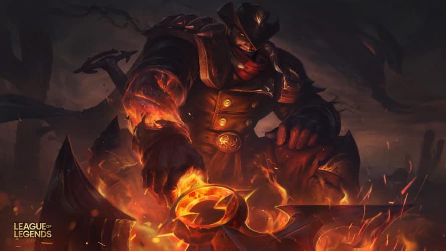 Darius de l'ouest skin league of legends patch 9.20 jeux vidéo vonguru