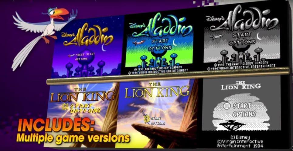 les jeux de Disney classic games