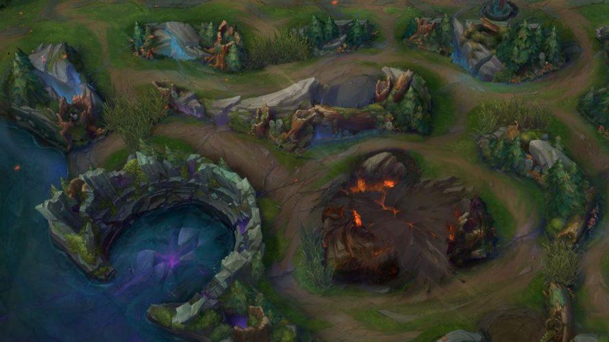 dragon infernal murs détruits anniversaire 10 ans league of legends jeux vidéo vonguru