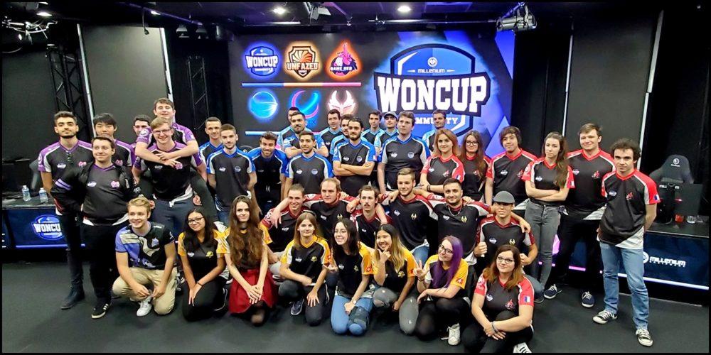 équipes millenium woncup community jeux vidéos esport vonguru