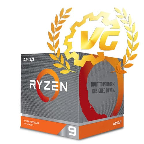 Award gold pour le Ryzen 3900X