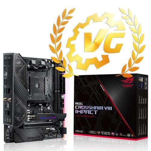 Award gold pour la Crosshair VIII Impact