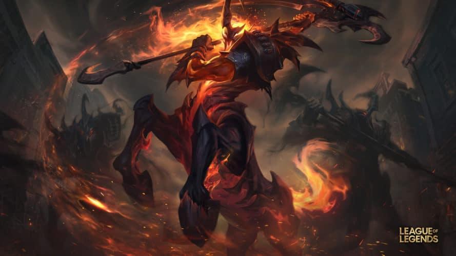 Hecarim de l'ouest skin league of legends patch 9.20 jeux vidéo vonguru