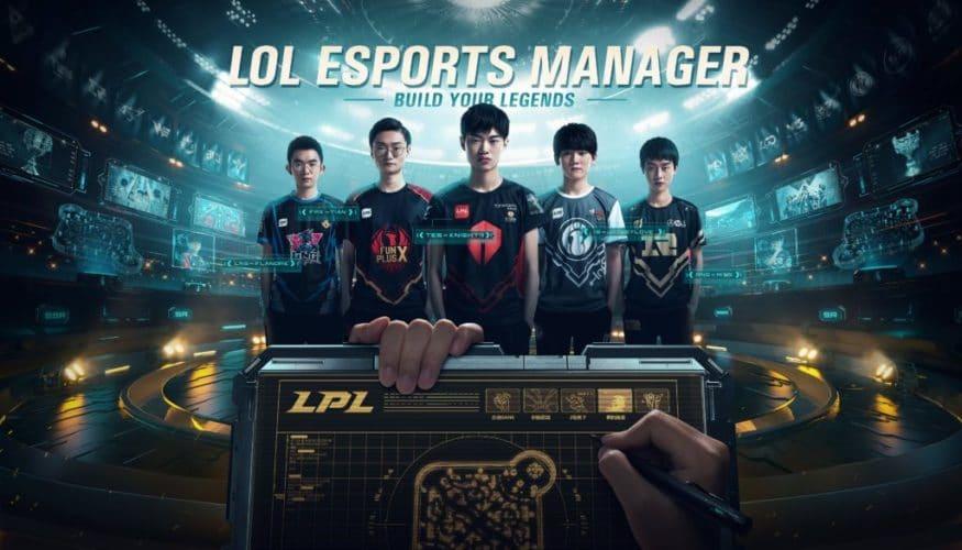 league of legends esport manager anniversaire 10 ans jeux vidéo vonguru