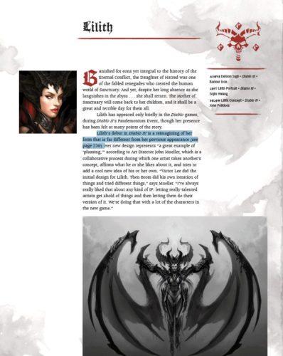 La page du recueil où Lilith est mentionnée
