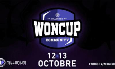 logo millenium woncup community esport jeux vidéo vonguru