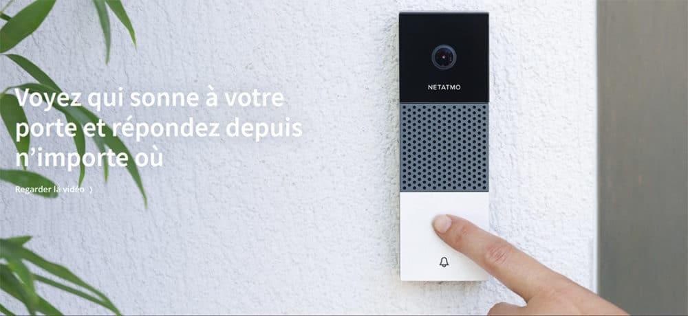 La sonnette vidéo intelligente de Netatmo
