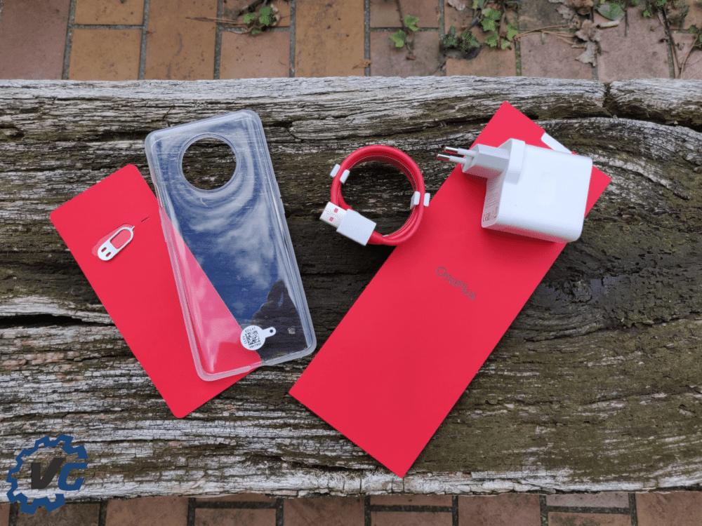 OnePlus 7T contenu boîte