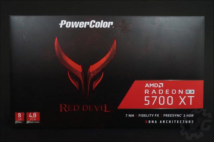 La Powercolor RX 5700 XT Red Devil