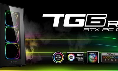 Sharkoon TG6 RGB bannière