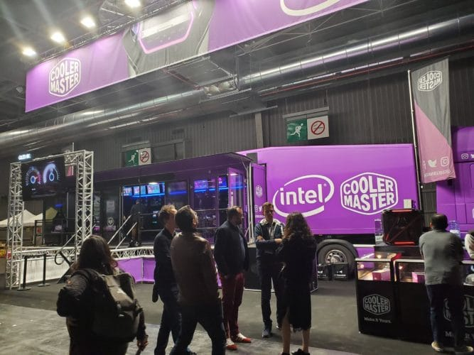 stand cooler master jeux vidéo gaming esport paris games week