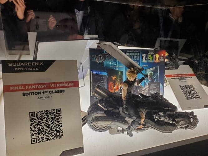 stand final fantasy 7 remake paris games week jeux vidéo vonguru