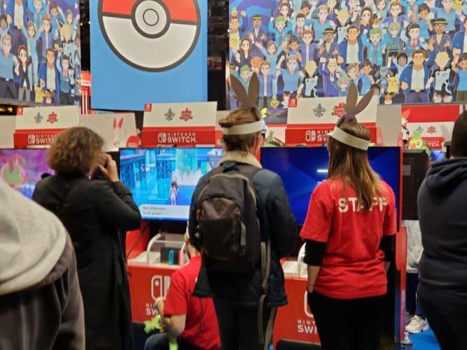 stand pokémon épée bouclier soirée presse paris games week jeux vidéo vonguru