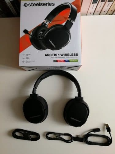 Steelseries Arctis 1 Wireless Packaging