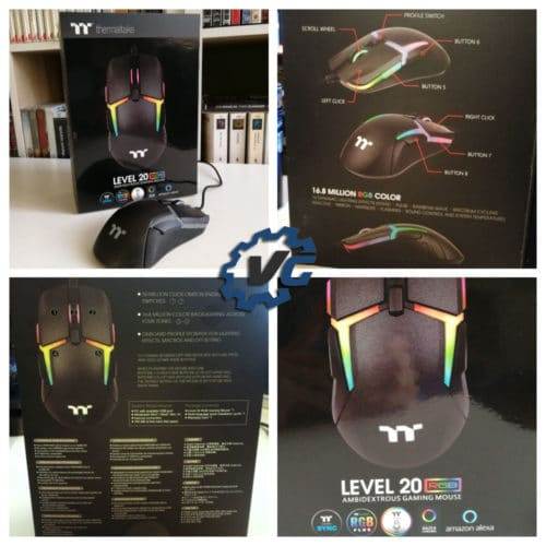 Souris Thermaltake lvl 20 packaging