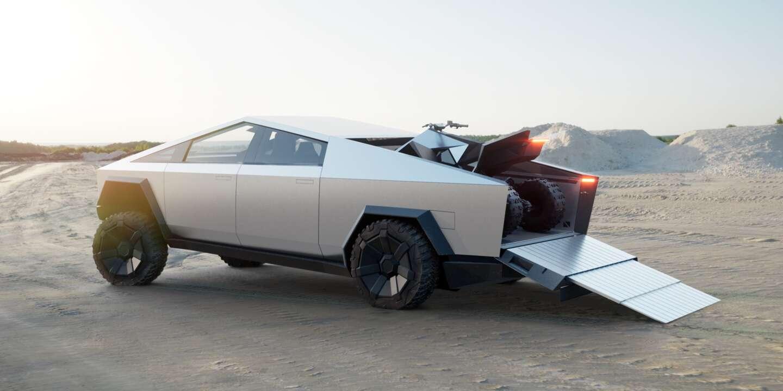 Tesla Cybertruck quad