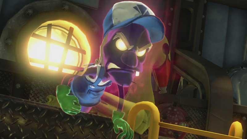 Le mecanicien de Luigi's Mansion 3