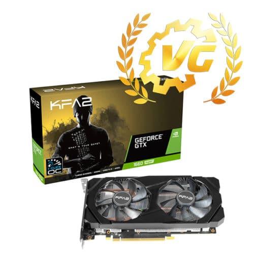 Award avec la KFA2 GTX 1660 Super EX