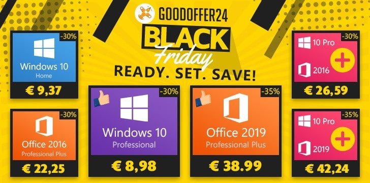goodoffer24 promos black friday